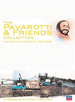 Pavarotti and Friends Collection DVD Cover Art