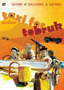 Taxi for Tobruk DVD Cover Art