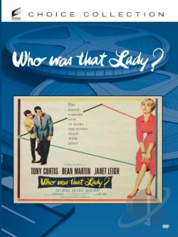 Who Was That Lady? DVD Cover Art