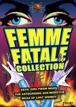 Femme Fatale Collection DVD Cover Art
