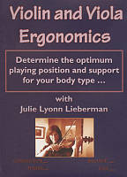 Violin and Viola Ergonomics DVD Cover Art