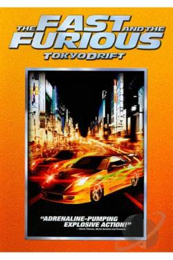 Fast and the Furious: Tokyo Drift DVD Cover Art