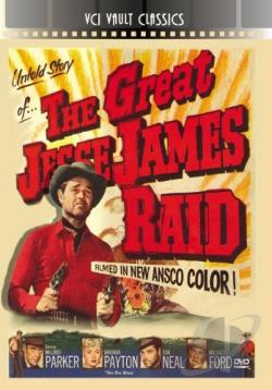 Great Jesse James Raid DVD Cover Art