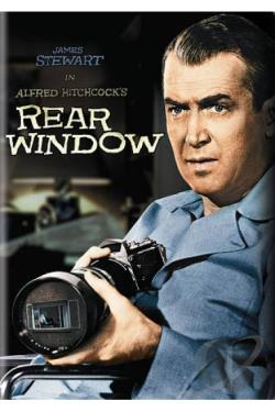 Rear Window DVD Cover Art