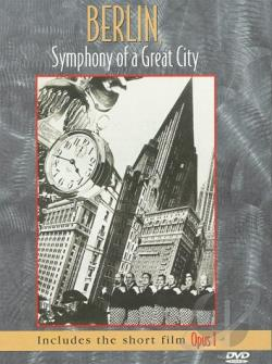 Berlin, Symphony of a Great City DVD Cover Art