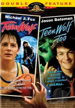 Teen Wolf/Teen Wolf Too Midnite Movies Double Feature DVD Cover Art