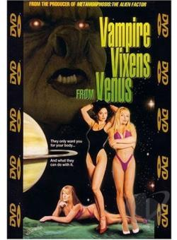 Vampire Vixens from Venus DVD Cover Art