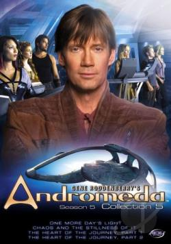 Gene Roddenberry's Andromeda - Season 5: Vol. 5 DVD Cover Art