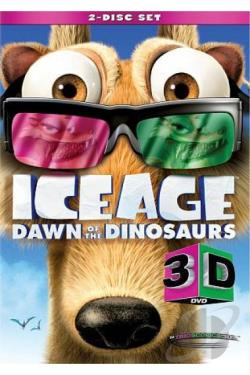 Ice Age: Dawn of the Dinosaurs DVD Cover Art