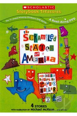 Scrambled States of America... and More Stories by Laurie Keller DVD Cover Art