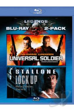 Universal Soldier/Lock Up BRAY Cover Art