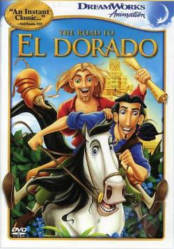 Road to El Dorado DVD Cover Art