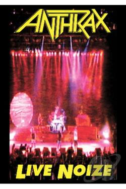 Anthrax - Live Noize DVD Cover Art
