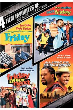 4 Film Favorite - Ice Cube Collection DVD Cover Art