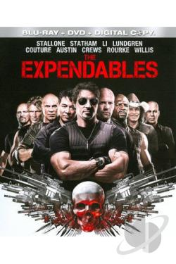 Expendables BRAY Cover Art