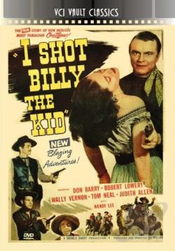 I Shot Billy the Kid DVD Cover Art
