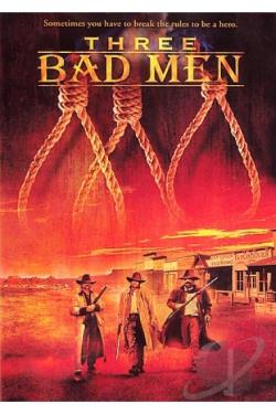 Three Bad Men DVD Cover Art