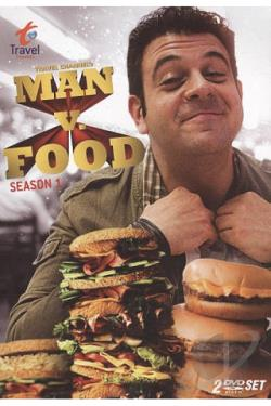 Man v. Food: Season 1 DVD Cover Art