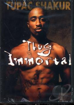 Thug Immortal: The Tupac Shakur Story DVD Cover Art