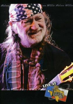 Willie Nelson - Live at Billy Bob's Texas DVD Cover Art