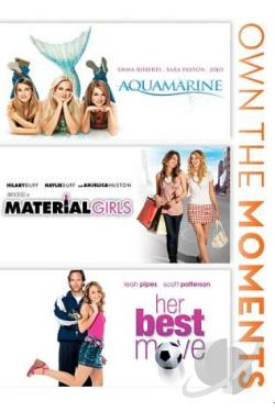 Aquamarine/Material Girls/Her Best Move DVD Cover Art