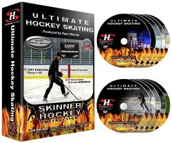 Ultimate Hockey Skating DVD Cover Art