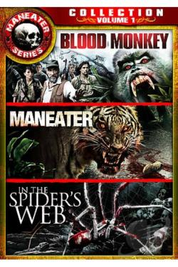 Maneater Series Collection Vol 1 - Blood Monkey, In The Spiders Web, Maneater DVD Cover Art