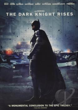 Dark Knight Rises DVD Cover Art