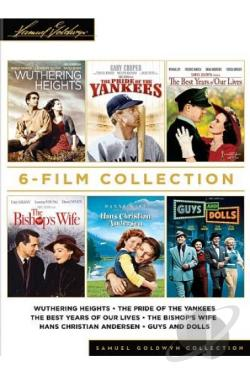 Samuel Goldwyn 6-Film Collection DVD Cover Art