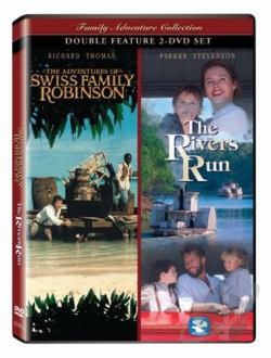 Adventures Of Swiss Family Robinson/The Rivers Run DVD Cover Art