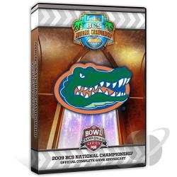 2009 FedEx BCS National Championship Game - Florida vs. Oklahoma DVD Cover Art