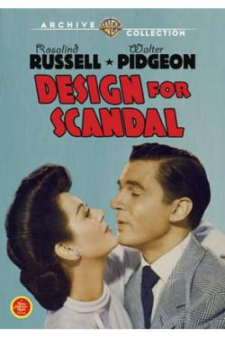 Design for Scandal DVD Cover Art
