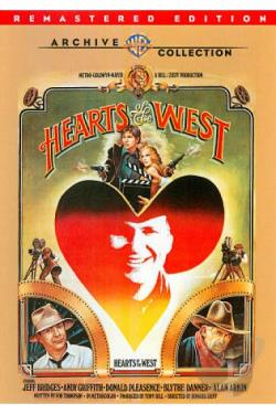 Hearts of the West DVD Cover Art