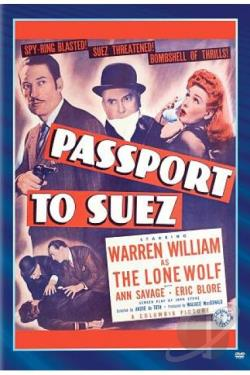 Passport to Suez DVD Cover Art