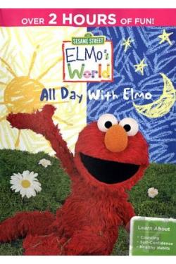 Sesame Street: Elmo's World - All Day With Elmo DVD Cover Art