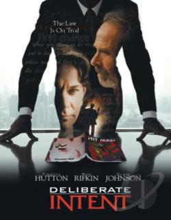 Deliberate Intent DVD Cover Art