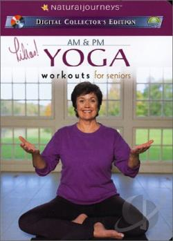 Lilias! AM & PM Yoga - Workouts for Seniors DVD Cover Art