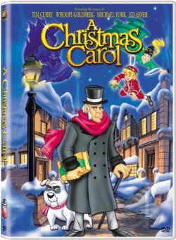 Christmas Carol DVD Cover Art