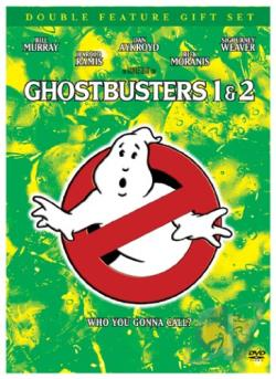 Ghostbusters/Ghostbusters 2 DVD Cover Art