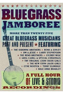Bluegrass Jamboree DVD Cover Art