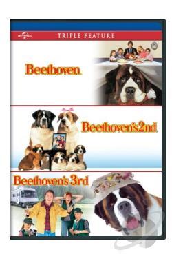 beethovenbeethovens 2ndbeethovens 3rd dvd movie