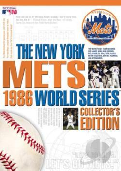 1986 MLB World Series - New York Mets DVD Cover Art