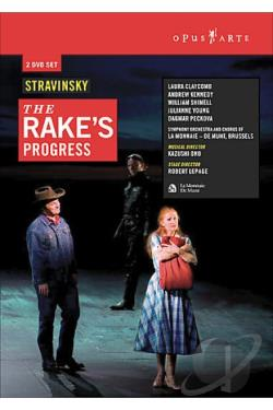 Rake's Progress DVD Cover Art
