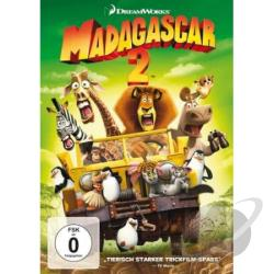 Madagascar 2 DVD Cover Art