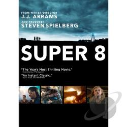 Super 8 DVD Cover Art