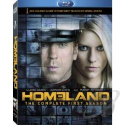 Homeland - The Complete First Season BRAY Cover Art