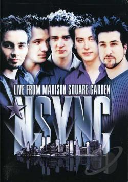 N Sync - Live at Madison Square Garden DVD Cover Art