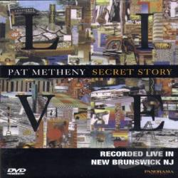 Pat Metheny - Secret Story Live DVD Cover Art
