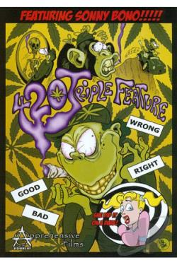 420 Triple Feature DVD Cover Art