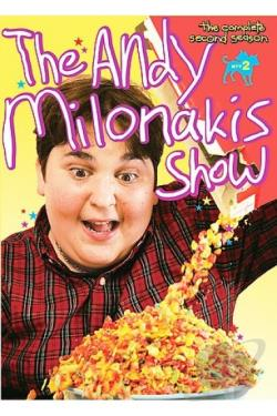 Andy Milonakis Show - The Complete Second Season DVD Cover Art